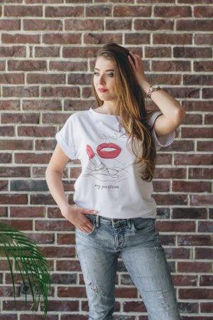 Marškineliai su spauda Art line technika (3)