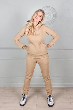 Medvilninis kostiumas su pukeliu gobtuvu ir kesenemis (10)