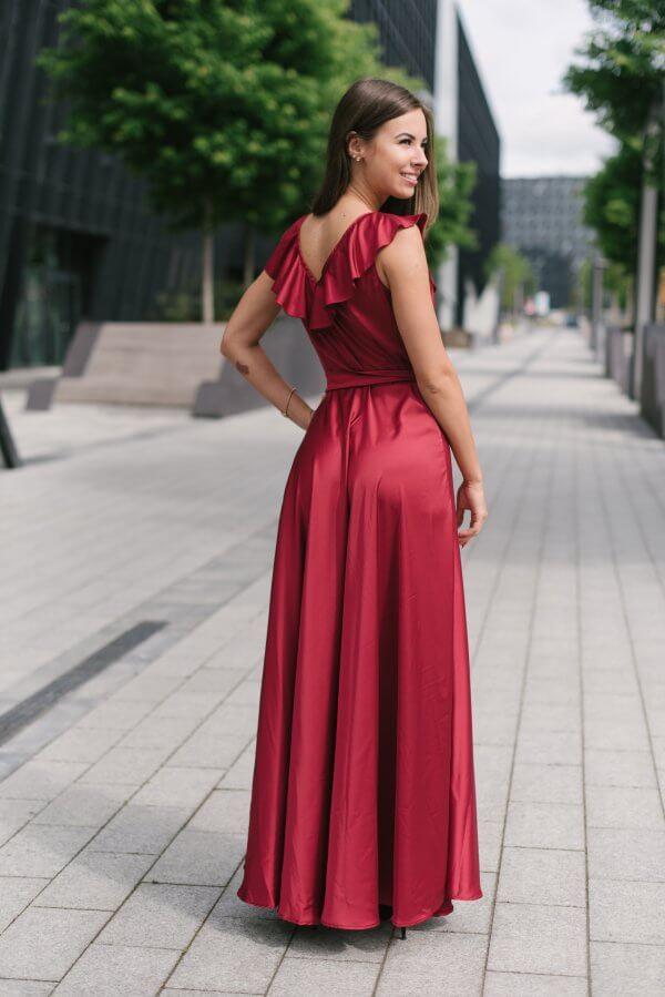 puosnios sukneles silkines