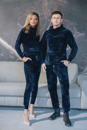 Sportinio modelio kostiumai veliuriniai laisvalaikio kostiumai